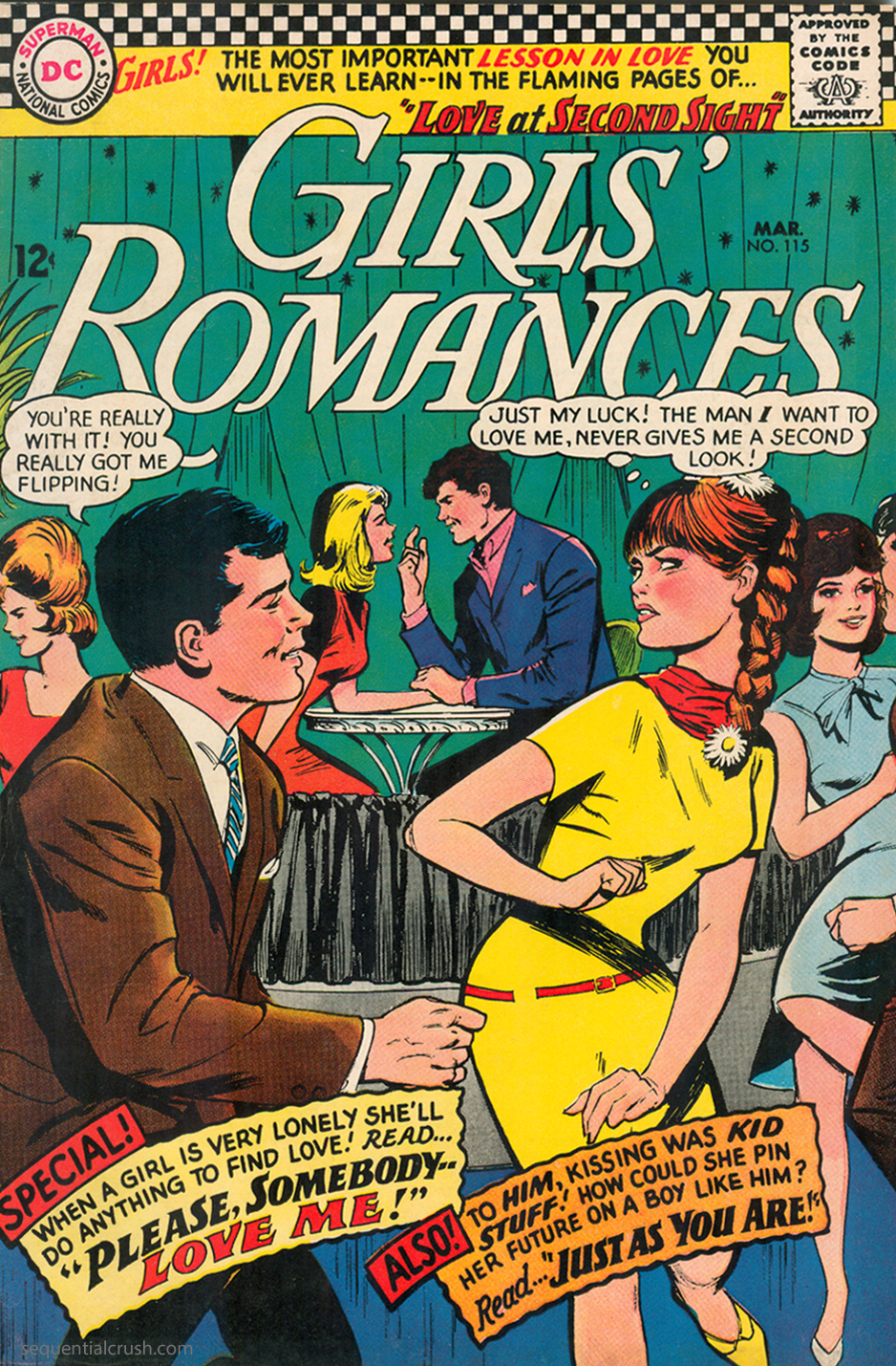 Girls' Romances #115 (March 1966) Pencils and Inks: Win Mortimer