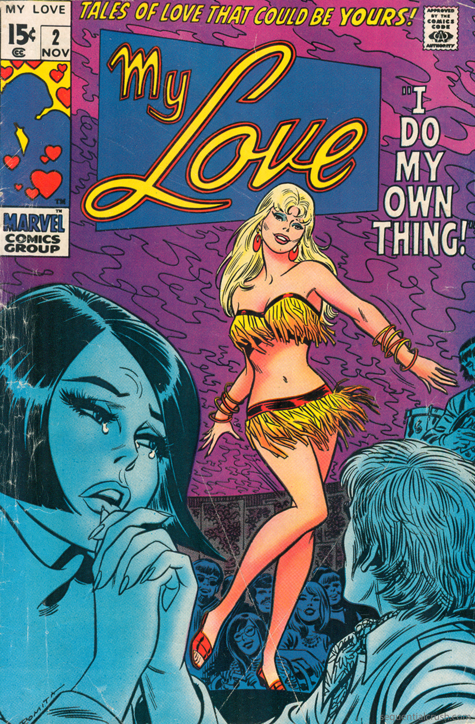 My Love  #2 (November 1969) Pencils and Inks: John Romita