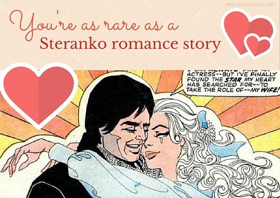 Marvel comics romance comics valentines day sequential crush
