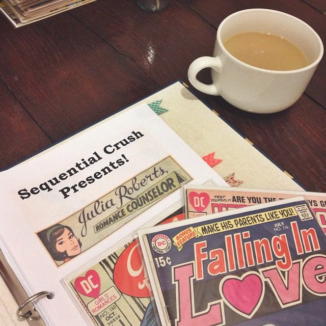 Sequential Crush romance comic books coffee