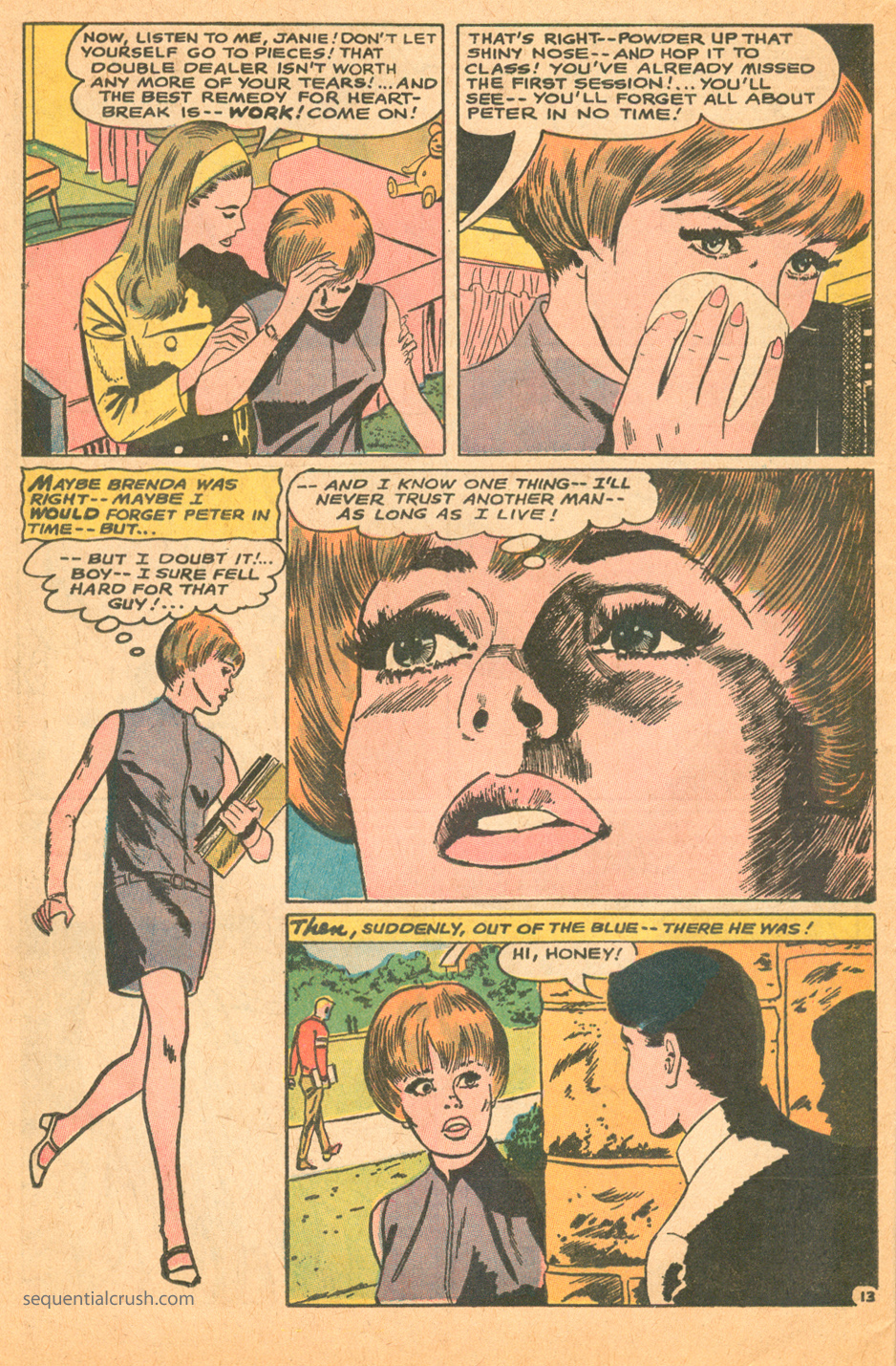 Jay Scott Pike illustration art romance comic book