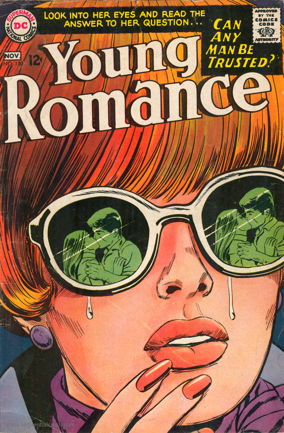 Image result for young romance 150 comic book""