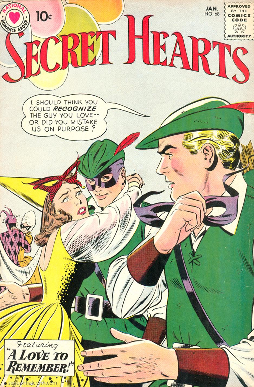 Secret Hearts  #68 (January 1961) Pencils: John Romita