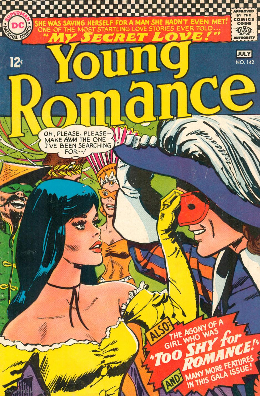 Young Romance  #142 (June/July 1966) Pencils: Jay Scott Pike