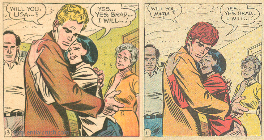 John Romita, Sr. Romance comic books 1960s