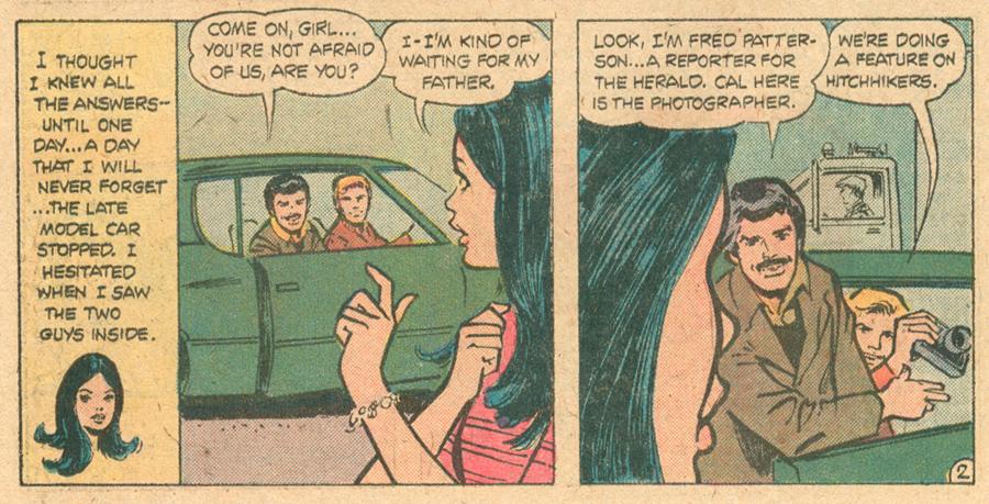 Young Romance #206 1975 Creig Flessel Romance comic book DC