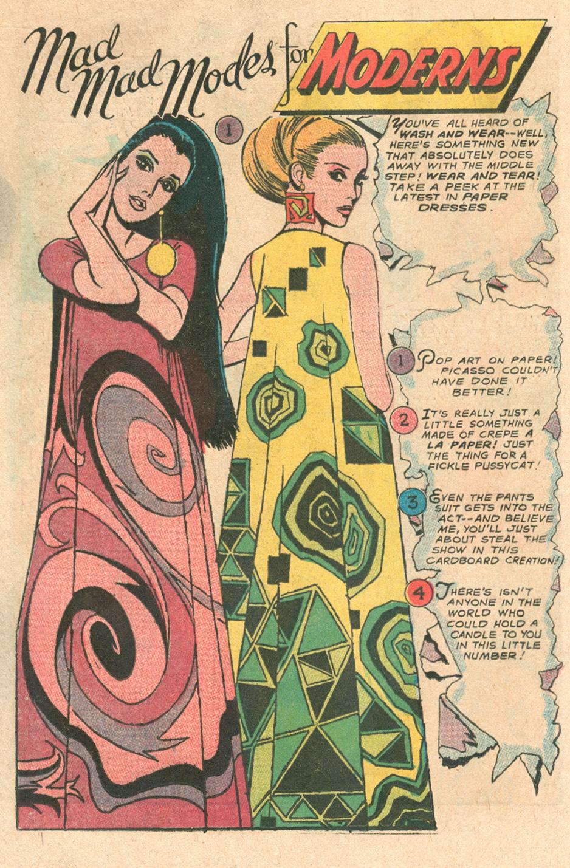 Fashion page romance comics Tony Abruzzo Mod looks