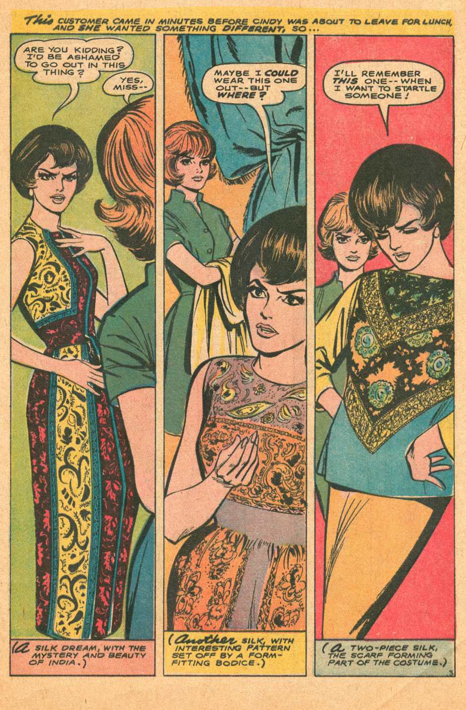 Remembering Win Mortimer best romance comic book artist Falling in Love 1968 fashion