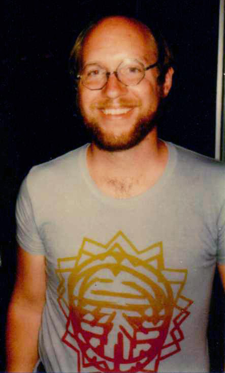 Steve Englehart, c. mid-1970s. Photo courtesy of the artist.