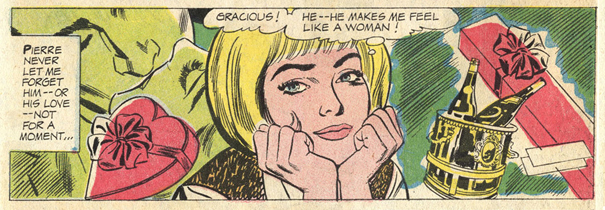 """One More Summer""   Secret Hearts  #115 (October 1966)  Pencils: Mike Sekowsky, Inks: Bernard Sachs"