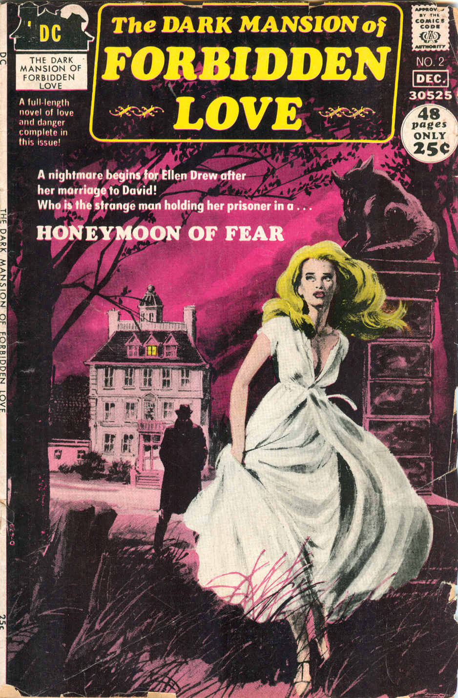 The Dark Mansion of Forbidden Love  #2 (November/December 1971) Cover by Joe Orlando ( GCD )