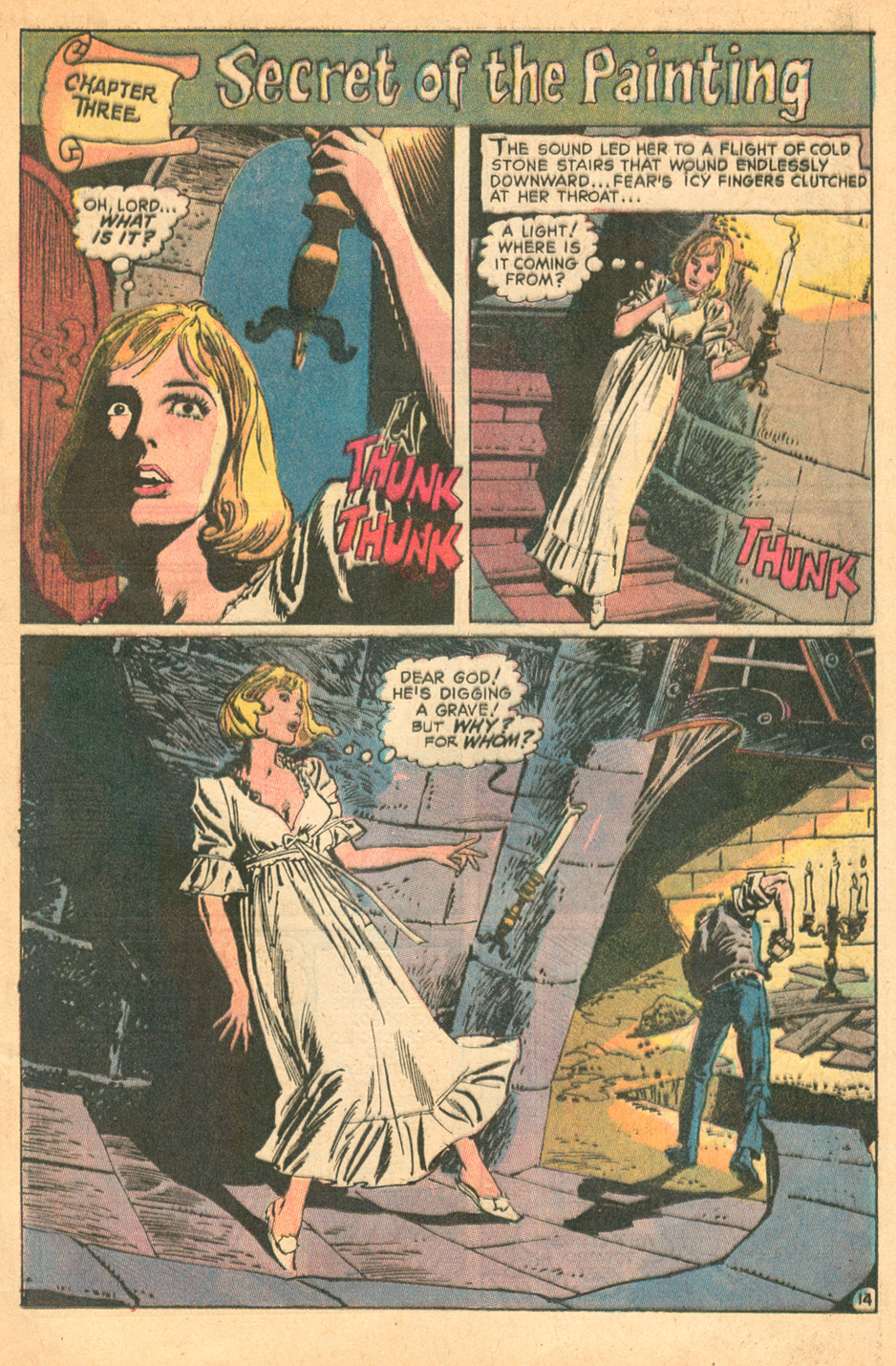 The Dark Mansion of Forbidden Love #2 DC comics Gothic Romance Comic Sequential Crush
