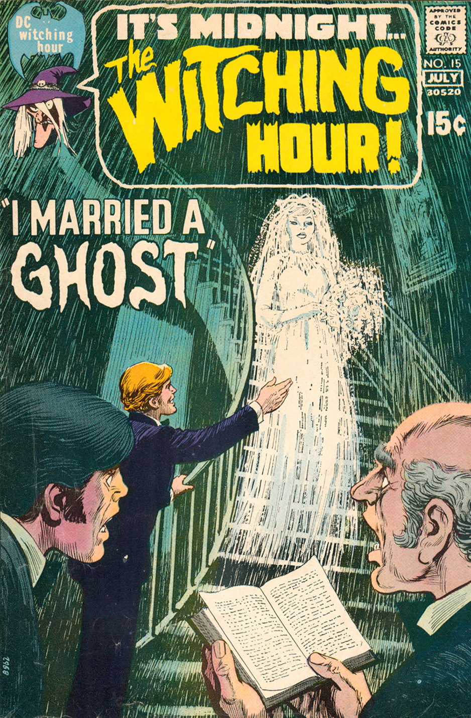 Cover art by Nick Cardy  The Witching Hour  #15 (June/July 1971)