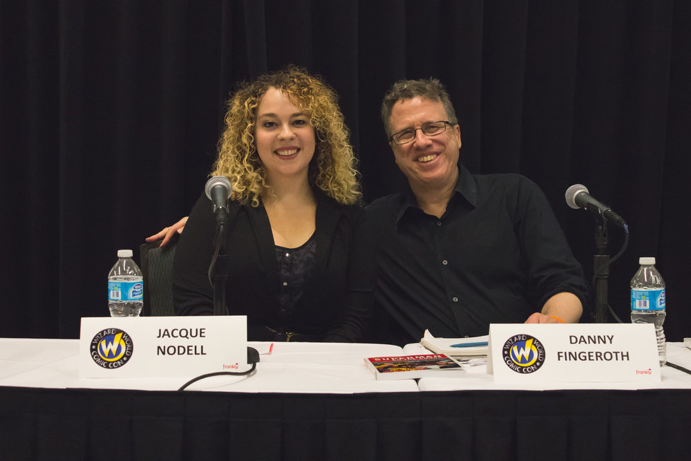 Danny Fingeroth and I after the panel! Wizard World Nashville 2014 (photo by James L. Carey)