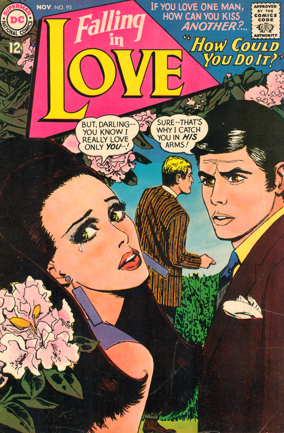 Tony Abruzzo Cover Pencils  Falling in Love  #95 (November 1967)