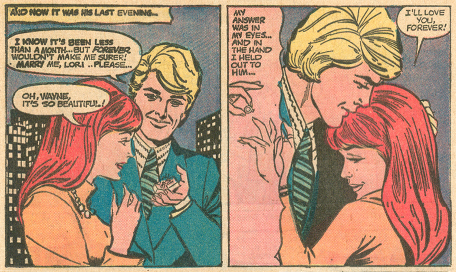 """Obey That Impulse!""  Young Love  #98 (August 1972)"