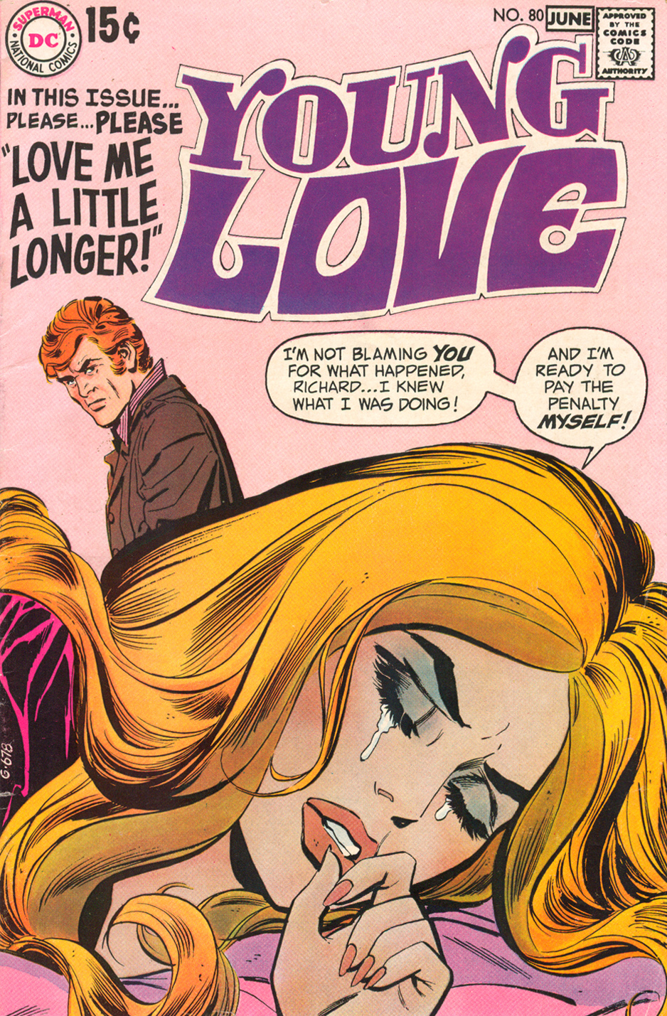 Young Love  #80 (May/June 1970) (attributed to Bob Oksner and Vince Colletta)