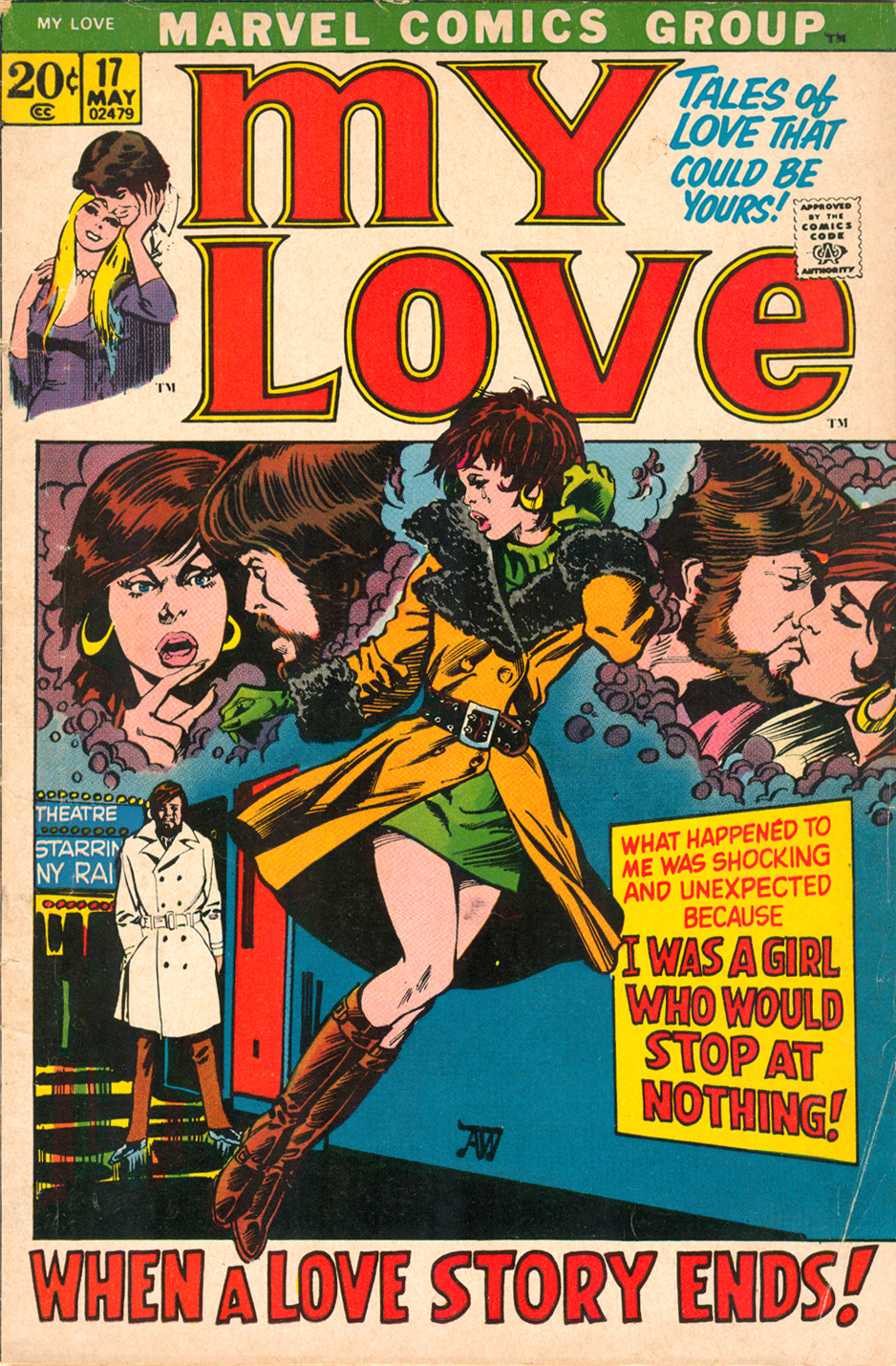 My Love 17 Alan Weiss romance comic Marvel