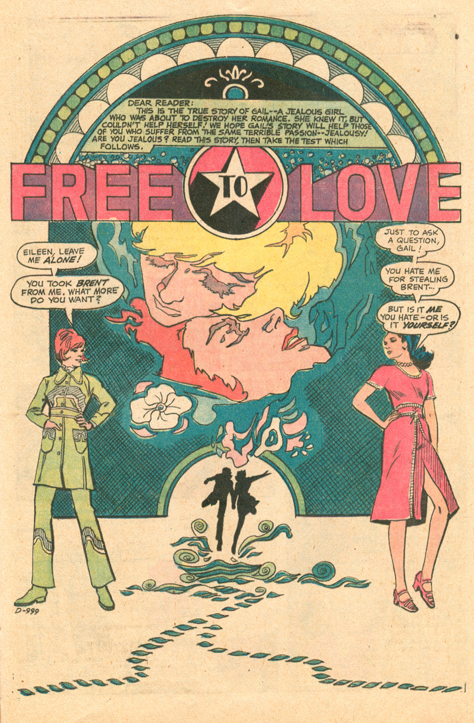 Young Love 99 1970s romance comic books Tony DeZuniga