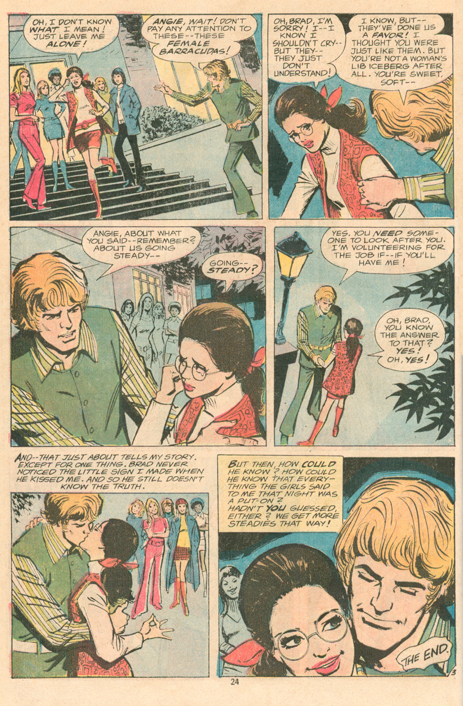 Win Mortimer Young Love romance comic book