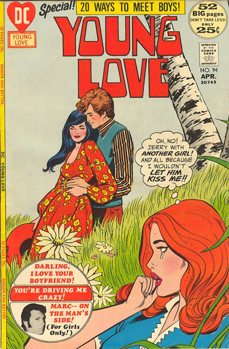 Young Love #94 Welcome to Sequential Crush the ultimate romance comic book blog on the web