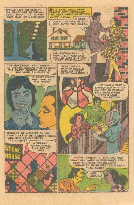 Secret Romance Charlton comics Enrique Nieto artist