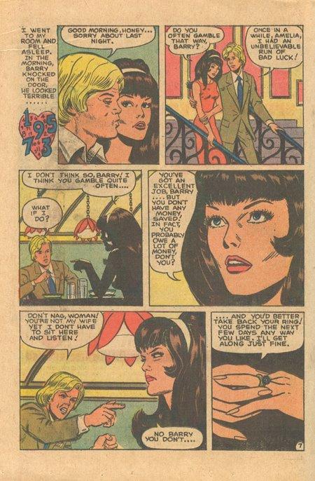 Charlton secret romance comic book Glanzman