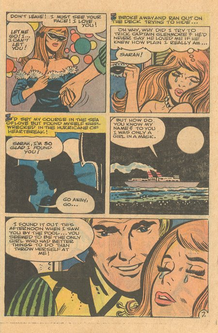 Charlton romance comic secret romance #35