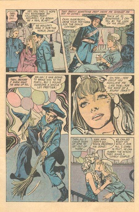 Tony DeZuniga story DC Comics romance
