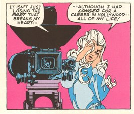 """My Heart Broke in Hollywood"" is the only romance story Jim Steranko drew. But my oh my, it is breathtaking! Our Love Story #5 (June 1970)"