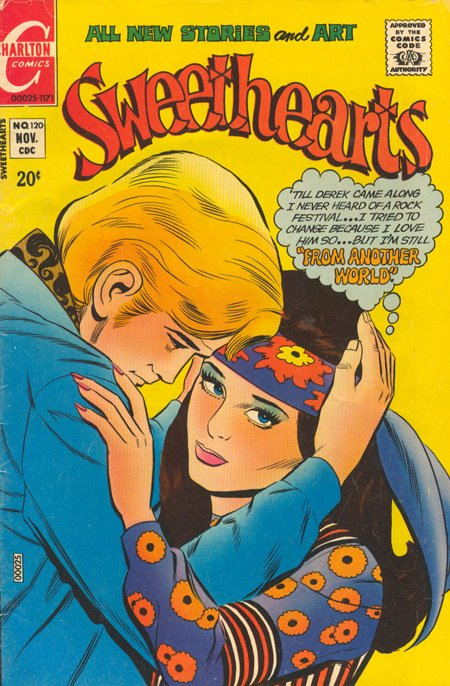 Sweethearts   #120 (November 1971) Charlton romance comic