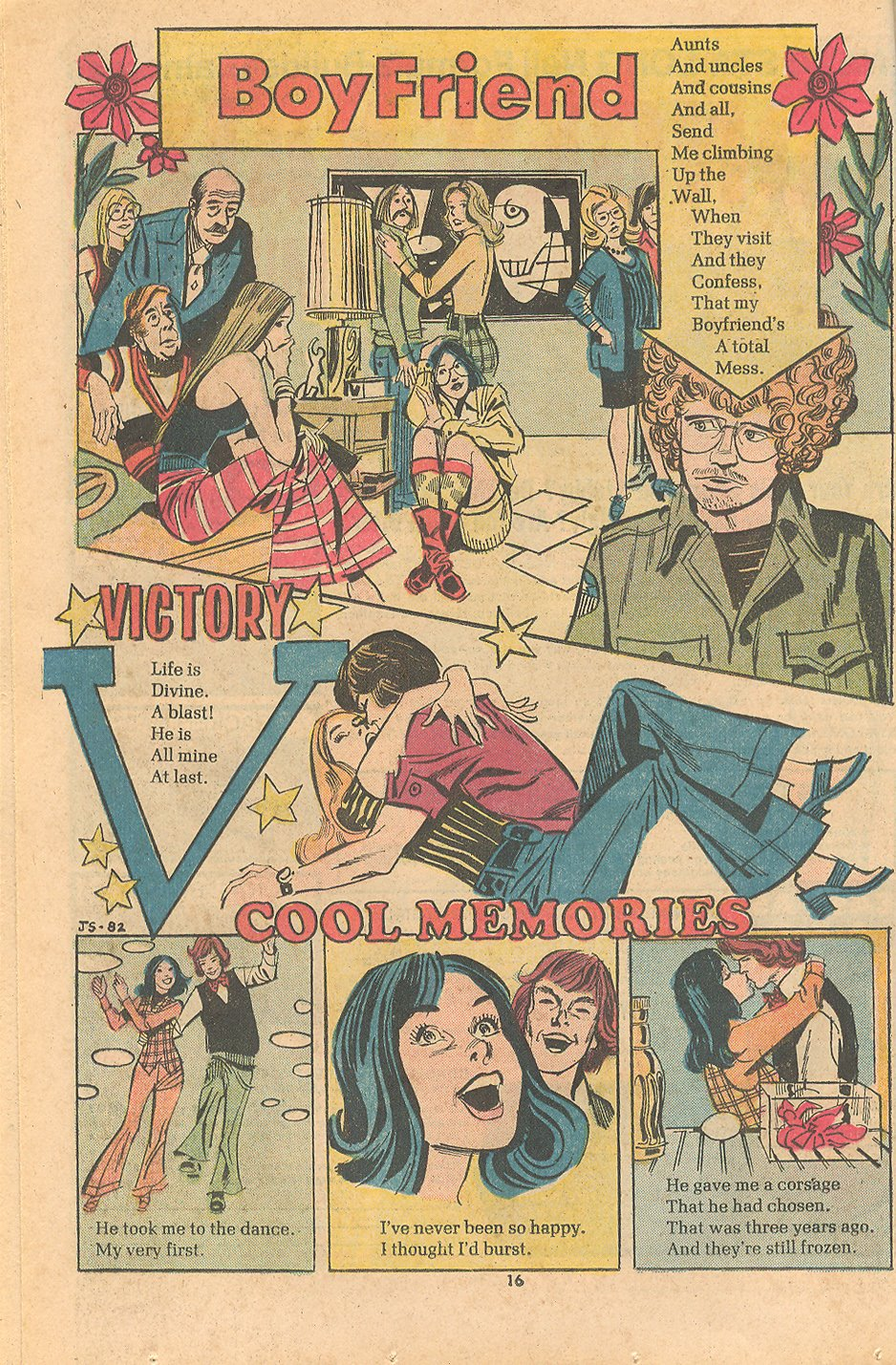 100-Page Super Spectacular Young Romance 198 Romantic Love Comics