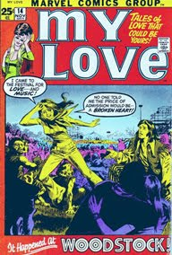 My Love Woodstock Marvel Comics