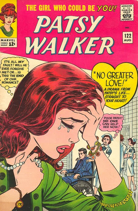 Patsy Walker Marvel Comics Romance