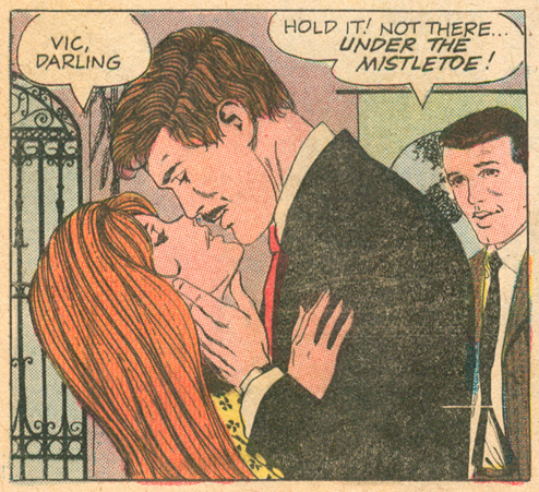 """A Kiss for Teacher""  Career Girl Romances  #47 (October 1968) Pencils: Luis Avila"