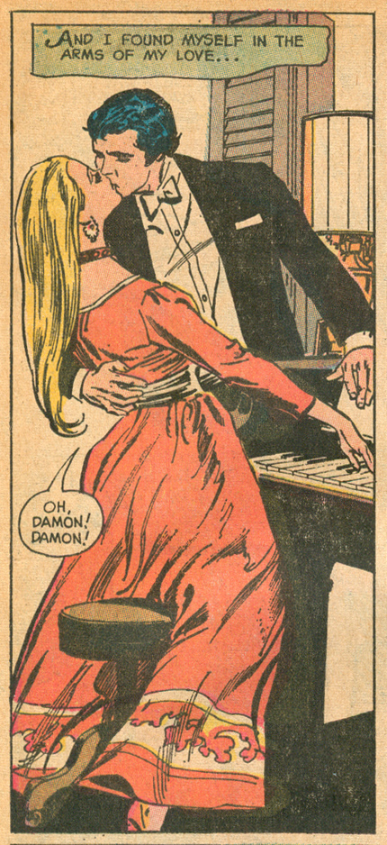 """The Melody of Love""  Falling in Love  #126 (November 1971) Pencils: Tony DeZuniga"