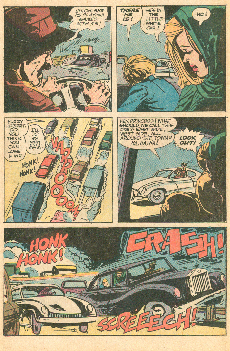 Friday Foster   (October 1972) Dell Comic