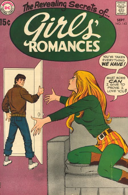 Girls' Romances #143 (September 1969)