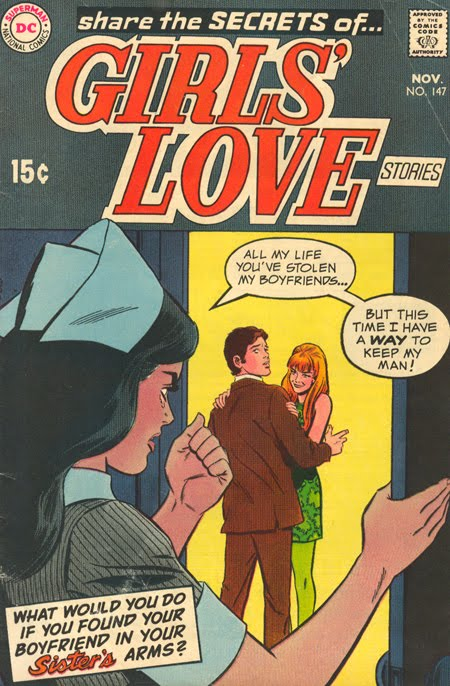 Girls' Love Stories #147 (November 1969)