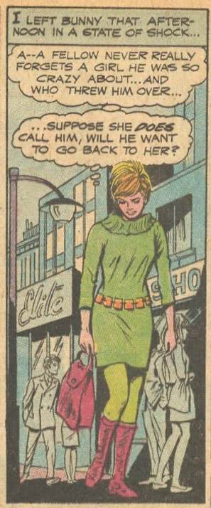 Falling in Love #108 (July 1969) Pencils by John Rosenberger