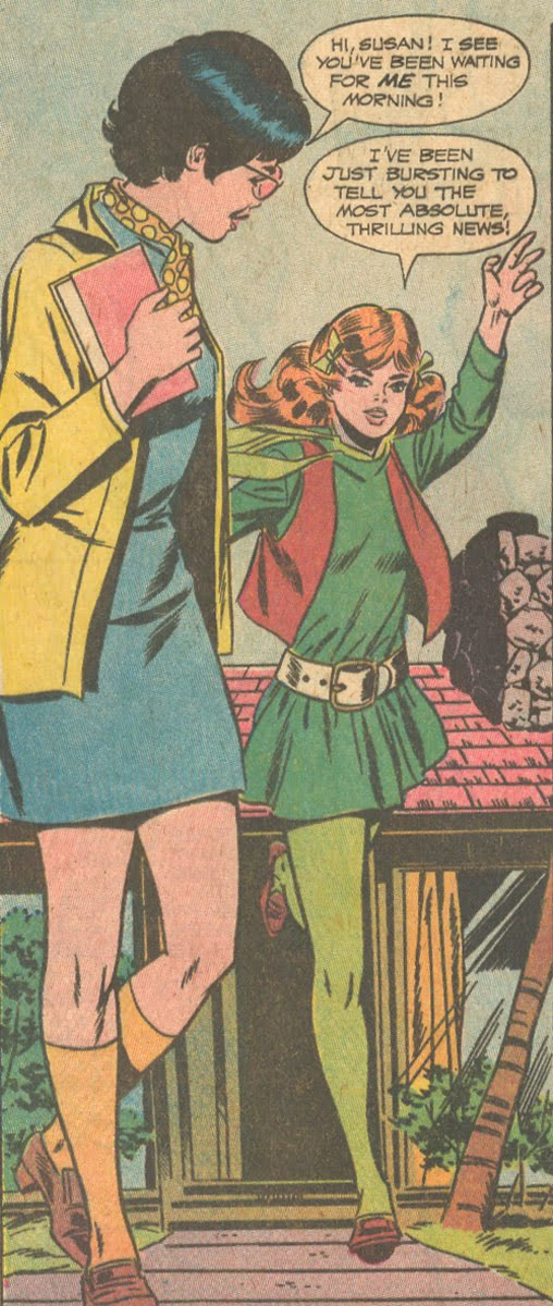 Falling in Love #108 (July 1969) Pencils by Wally Wood