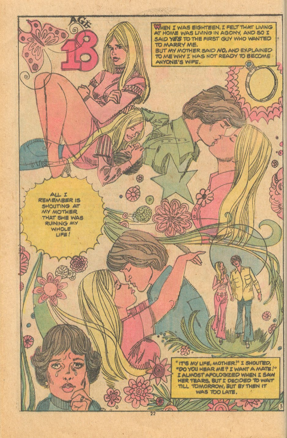Parents Don't Understand Romance Comics Young Love Creig Flessel