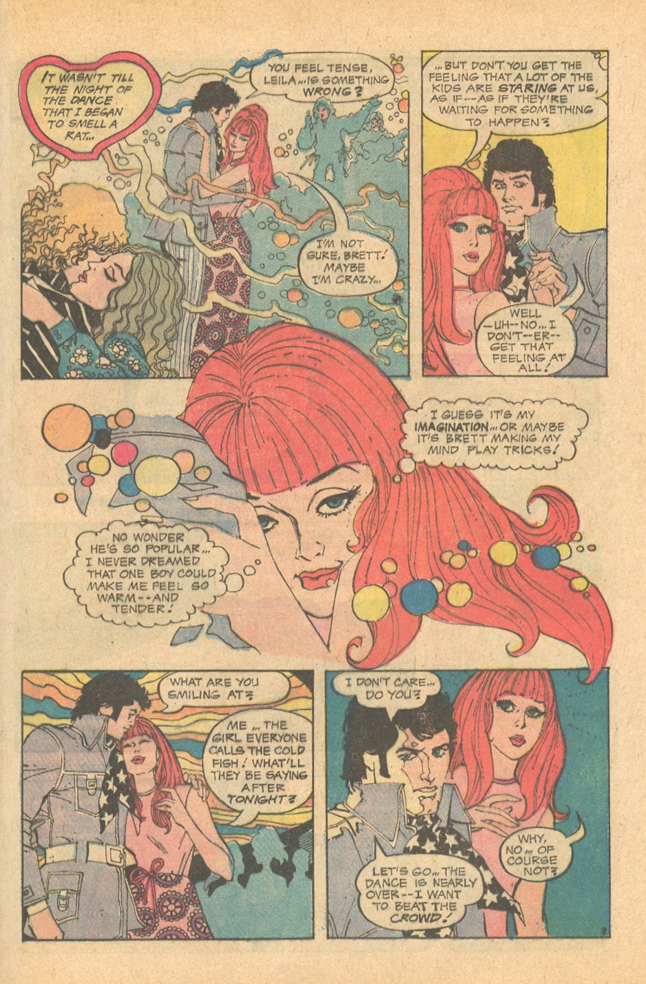 Alex Nino Romance Comic book story