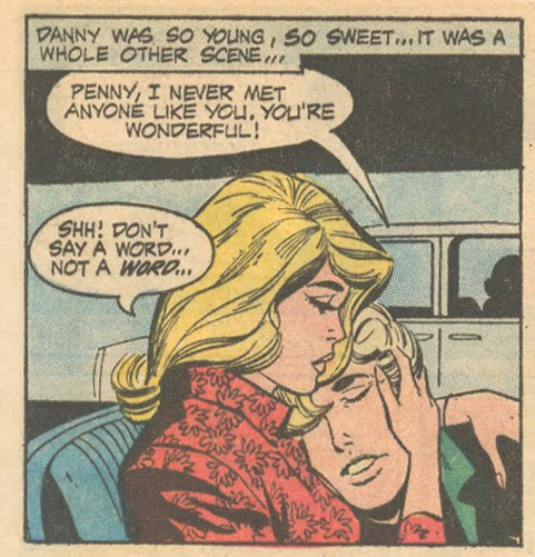 """Too Young For Love""  Young Romance  #172 (June/July 1971)"