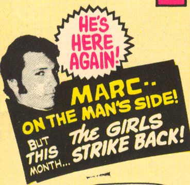 Marc on the Man's Side comic book misogyny