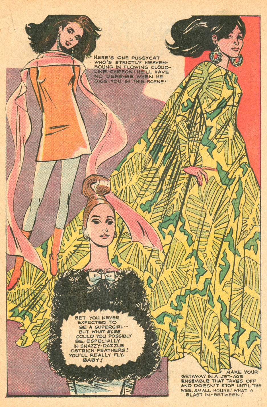 1960s fashion batman romance comic book tony abruzzo illustrator