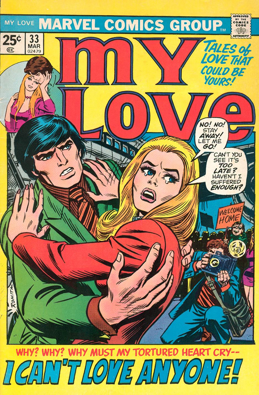 My Love #33 Paty Cockrum romance comic book artist