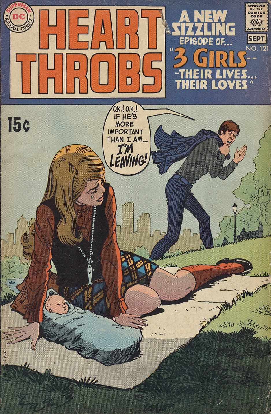 Heart Throbs romance comic book nick cardy artist