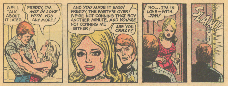Young Love romance comic book country music