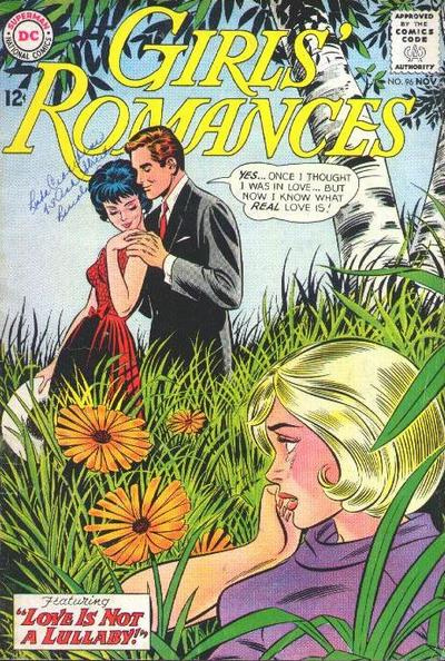 Girls' Romances #96 (November 1963) Pencils: John Romita